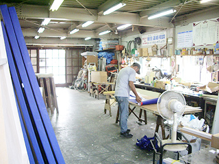 豊橋の看板屋さんの看板製作工房の写真5