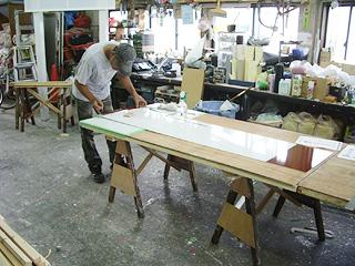 豊橋の看板屋さんの看板製作工房の写真12